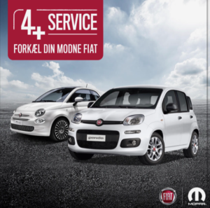 Forkæl din modne Fiat med et Fiat 4 + eftersyn