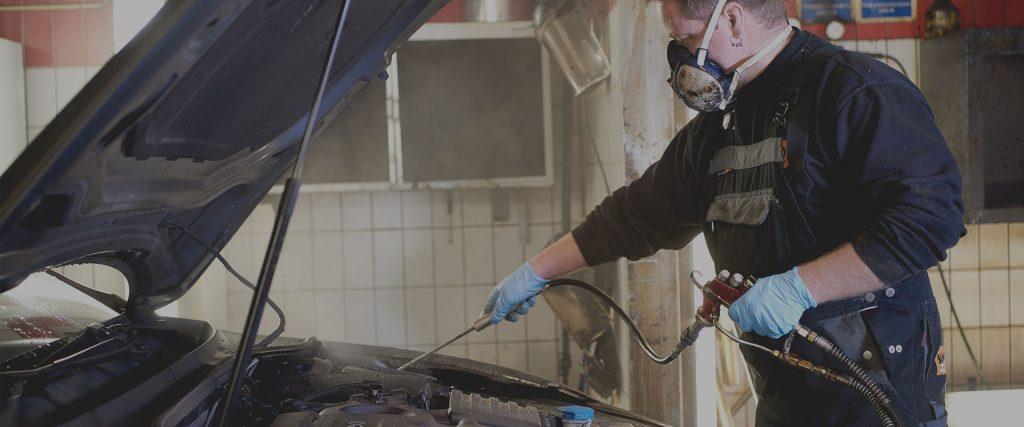 Undervognsbehandling og rustbeskyttelse